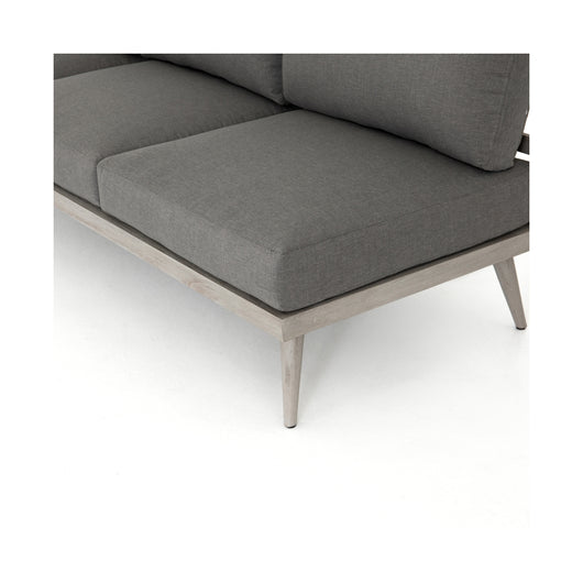 "Solano Tilly Outdoor Sofa 90"" - Weathered Grey"