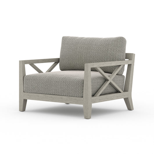Solano Huntington Outdoor Chair - Weathered Grey