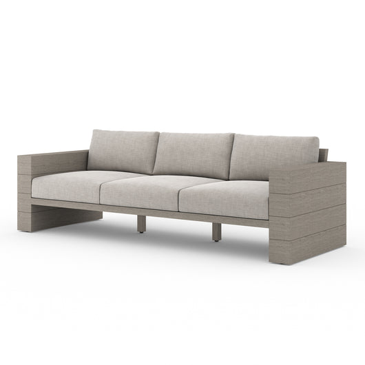 Solano Leroy Outdoor Sofa - Weathered Grey