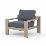 Solano Monterrey Outdoor Lounge Chair - Washed Brown
