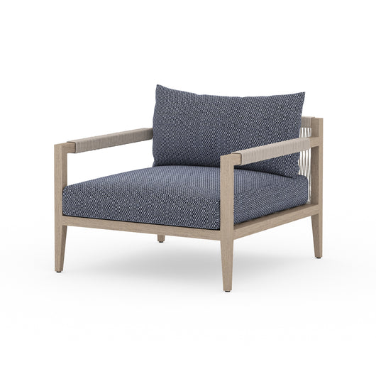 Solano Sherwood Outdoor Chair - Washed Brown