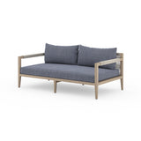 "Solano Sherwood Outdoor Sofa 63"" - Washed Brown"