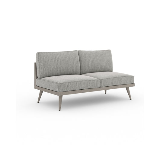 "Solano Tilly Outdoor Sofa 60"" - Weathered Grey"
