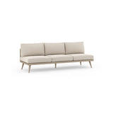 "Solano Tilly Outdoor Sofa 90"" - Washed Brown"