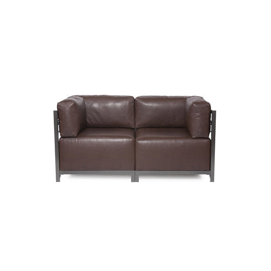 Howard Elliott Axis Loveseat - Avanti & Titanium