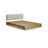 MASHstudios - LAX  Platform Bed with Storage