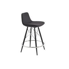 Mobili Modern Lyra Counter Stool - Dowel