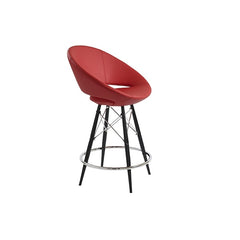 Mobili Modern Luna Counter Stool - Dowel