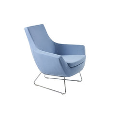 Mobili Modern Joy Arm Lounge Chair - Wire