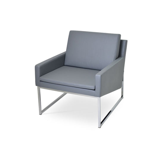 Sohoconcept Nova Chrome Lounge Chair