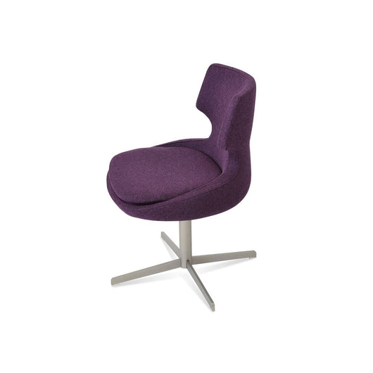 Sohoconcept Patara 4 Star Swivel Dining Chair
