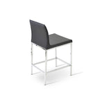 Sohoconcept Polo Chrome Counter Stool