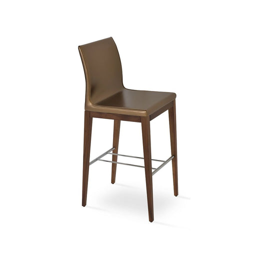 Sohoconcept Polo Wood Bar Stool - Beech