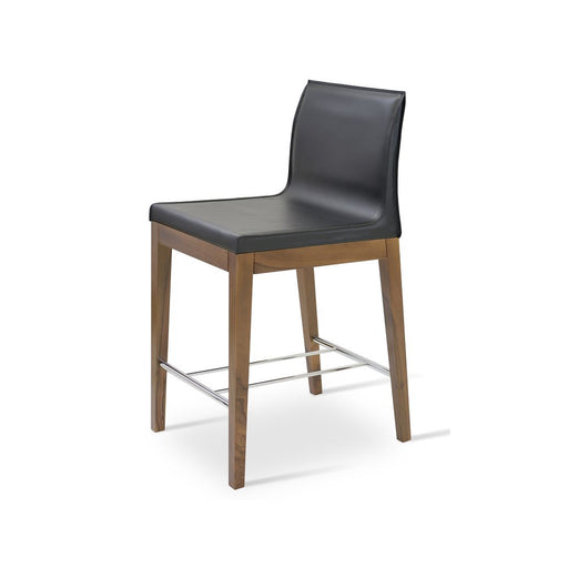 Sohoconcept Polo Wood Counter Stool