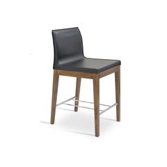 Sohoconcept Polo Wood Counter Stool - Beech