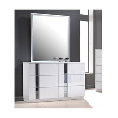 J&M Furniture Palermo Dresser and Mirror