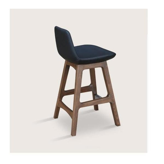 Sohoconcept Pera Wood Counter Stool - Walnut