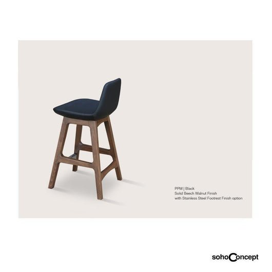 Sohoconcept Pera Wood Counter Stool - Beech