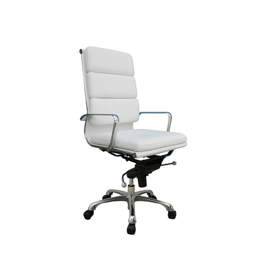 J&M Furniture Plush High  Back Office Chair