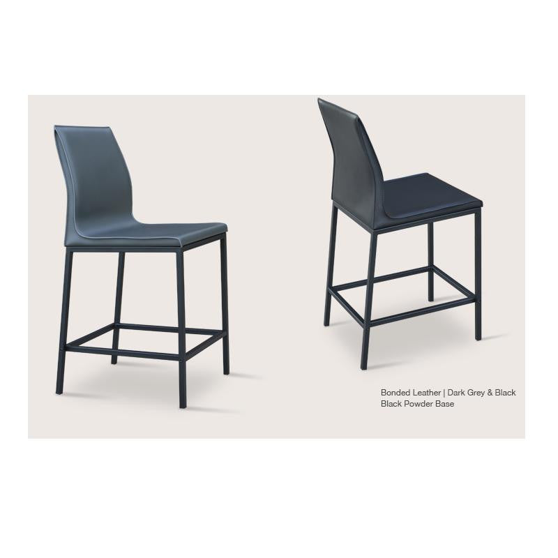 Prime Sohoconcept Polo Chrome Bar Stool Caraccident5 Cool Chair Designs And Ideas Caraccident5Info