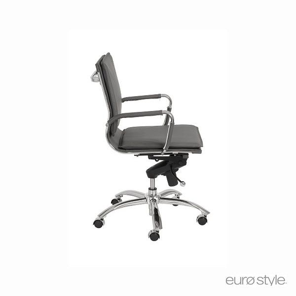 Euro Style Gunar Pro Office Chair - Low Back
