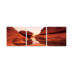 J&M Premium Acrylic Wall Art - Red Rock
