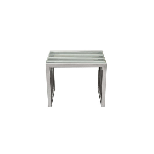 Soho Stainless Steel Side Table