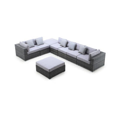 Slater 8-Piece Outdoor Conversation Set
