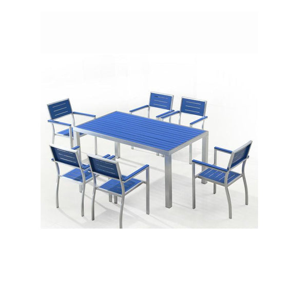 Court 7-Piece Outdoor Dining Set