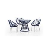 Echo 4-Piece Outdoor Dining Set