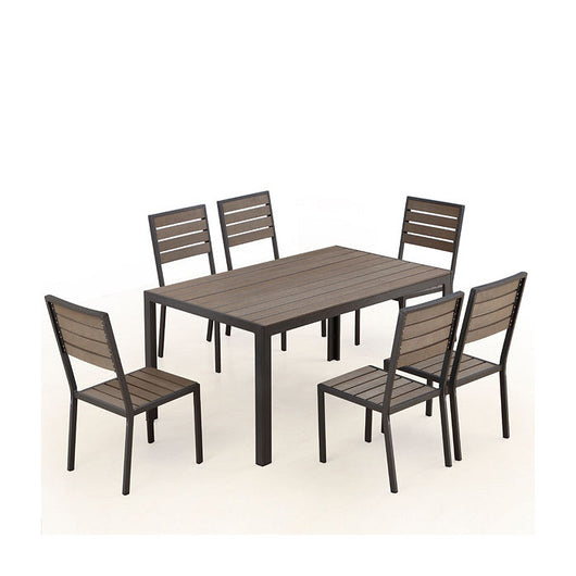 Welsley 6-Seat Outdoor Dining Set