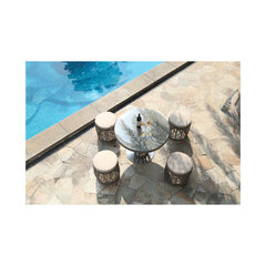 Basson 5-Piece Outdoor Pub Set