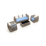 Chavaughn 4-Piece Outdoor Conversation Set