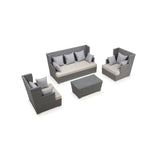 Ascent 4-Piece Conversation Set