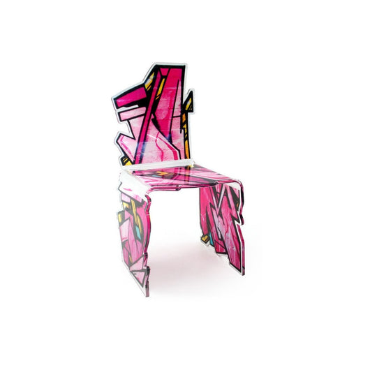 Acrila Street Art Chair - Pink