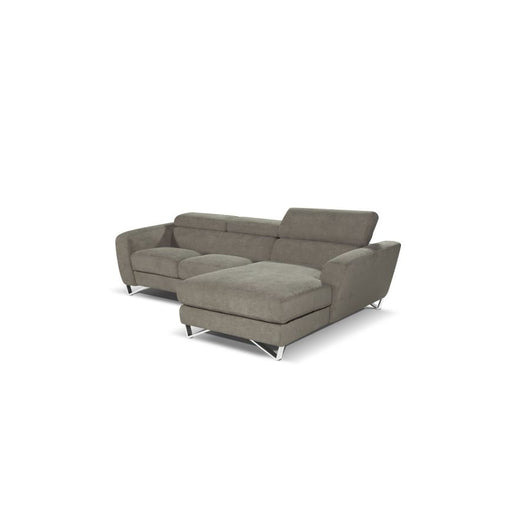 J&M Furniture Sparta Mini Sectional Sofa - Fabric
