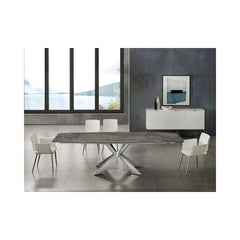 Icon Motorized Extendable  Dining Table - Marble