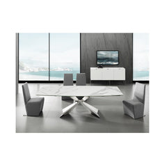 Carrara Motorized Extendable  Dining Table