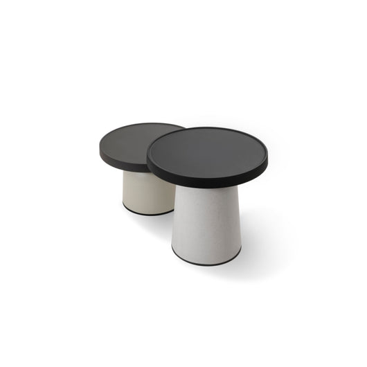 Toou Thick Top Side Table - Low