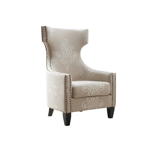 TOV Gramercy Linen Wing Chair
