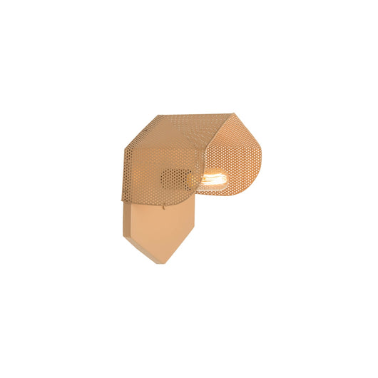 Mokhtar  Hexagon Wall Sconce