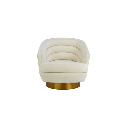 Canyon Velvet Swivel Chair