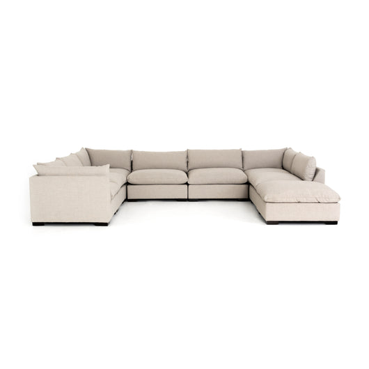 Atelier Westwood 7 Piece Sectional with Ottoman