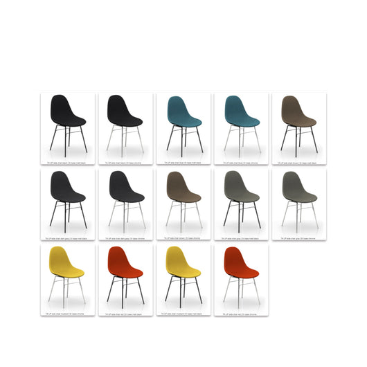 Toou TA Dining Chair - ER Base - Upholstered