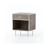 Bentley Shagreen Bedside Table