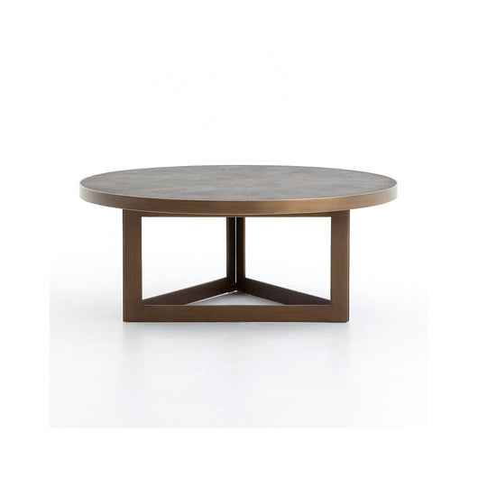 Bentley Shagreen Round Coffee Table
