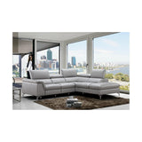 J&M Furniture Viola Premium Leather Sectional