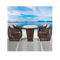 Nest 5-Piece Patio Dining Set