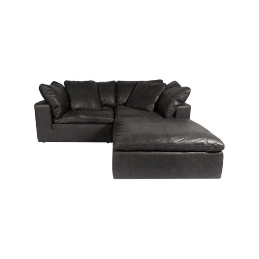 Moe's Clay Nook Modular Sectional - Leather
