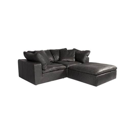 Moe's Clay Nook  Sectional - Leather